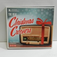 CDs de Música: DISCO 3 CD. THE REAL... - THE ULTIMATE CHRISTMAS CROONERS COLLECTION. COMPACT DISC. TRIPLE.. Lote 223942833