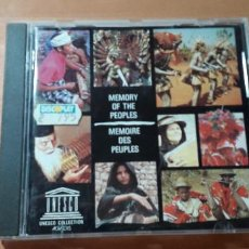 CDs de Música: 14-00235 - MEMORY OF THE PEOPLES. Lote 223943532