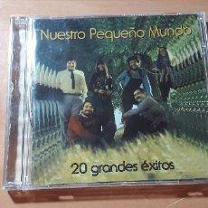 CDs de Música: 14-00243 - NUESTRO PEQUEÑO MUNDO - 20 GRANDES EXITOS. Lote 223946153