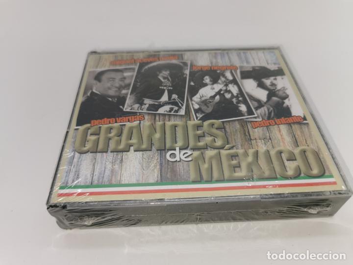 GRANDES DE MÉXICO 4 CDS SIN DESPRECINTAR (Música - CD's Otros Estilos)