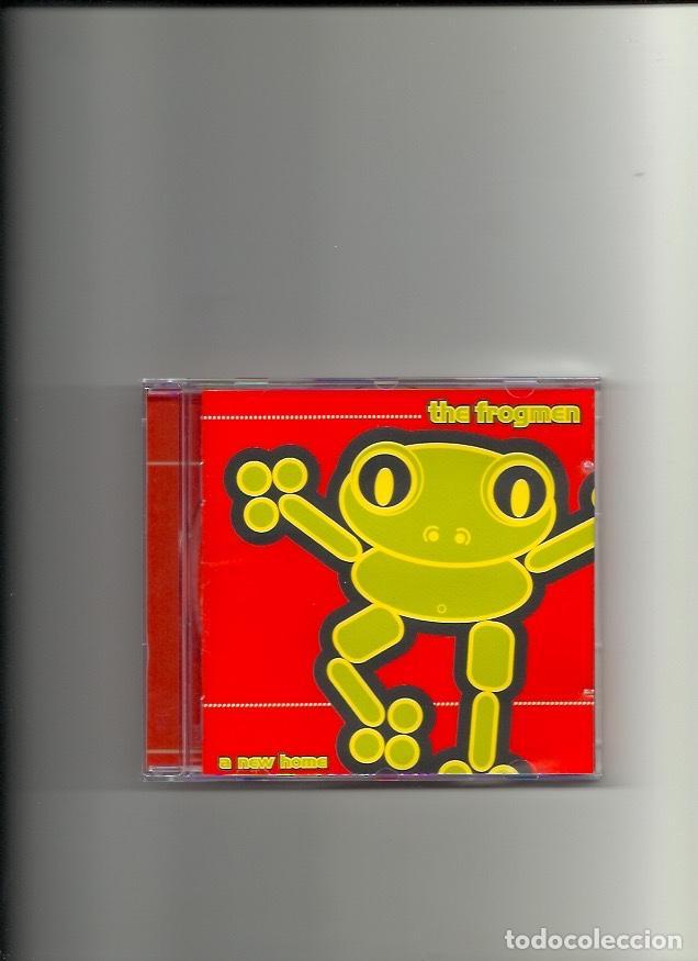 THE FROGMEN. A NEW HOME (CD ALBUM 1997) (Música - CD's Techno)
