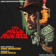 CDs de Música: ENNIO MORRICONE – THE HILLS RUN RED. Lote 223988757