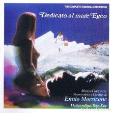 CDs de Música: DEDICATO AL MARE EGEO - ENNIO MORRICONE. Lote 224024691