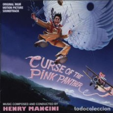 CDs de Música: CURSE OF THE PINK PANTHER - HENRY MANCINI. Lote 224031210
