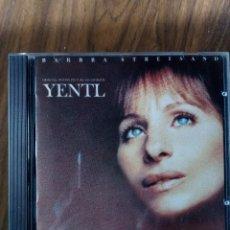 CDs de Musique: BARBRA STREISAND - YENTL. Lote 224048852