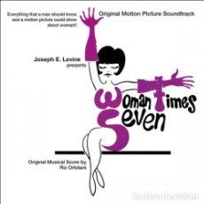 CDs de Música: RIZ ORTOLANI – WOMAN TIMES SEVEN. Lote 224061257