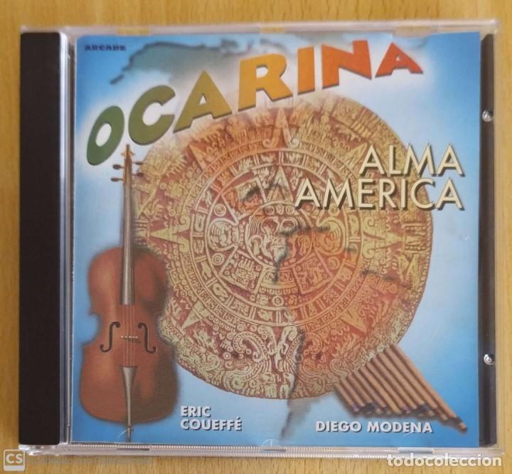 OCARINA (ALMA AMERICA) CD 1997 - DIEGO MODENA (Música - CD's World Music)