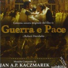 CDs de Música: GUERRA E PACE / JAN A. P. KACZMAREK CD BSO. Lote 224133208