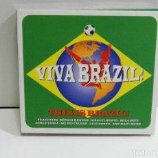 CDs de Música: DISCO 3 CD. VARIOS - VIVA BRAZIL!. COMPACT DISC. TRIPLE.. Lote 224183860