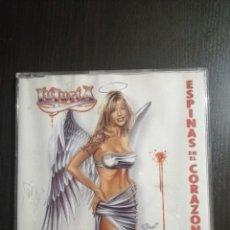 CDs de Música: LUJURIA - ESPINAS EN EL CORAZÓN. Lote 224211108