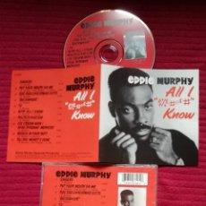CDs de Música: EDDIE MURPHY: ALL I KNOW. CD 1987 SONY MUSIC.. Lote 224215257