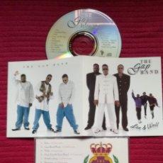 CDs de Música: THE GAP BAND: LIVE & WELL. CD 1996.. Lote 224215628