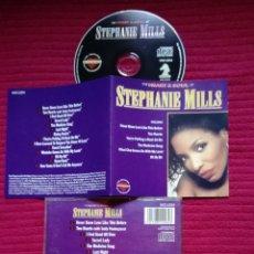 CDs de Música: STEPHANIE MILLS: THE HEART & SOUL. CD 1991.. Lote 224216683