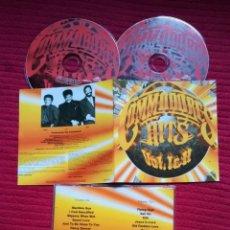 CDs de Música: COMMODORES: HITS VOL.1& 2. 2CD'S. 2004.. Lote 224217993