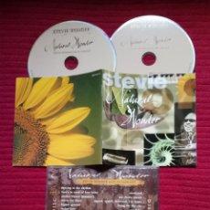CDs de Música: STEVIE WONDER: NATURAL WONDER, LIVE IN CONCERT. 2CD'S 1996 MOTOWN.. Lote 224219550