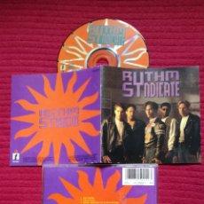 CDs de Música: RYTHM SINDICATE: S/T. CD 1991 IMPACT RECORDS.. Lote 224222106