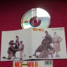 CDs de Música: NICE AND WILD: ENERGY, LOVE AND UNITY. CD 1987 ATLANTIC.. Lote 224224565