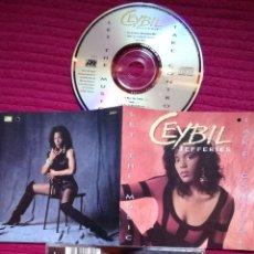 CDs de Música: CEYBIL JEFFERIES: LET THE MUSIC TAKE CONTROL. CD 1991 ATLANTIC.. Lote 224236973
