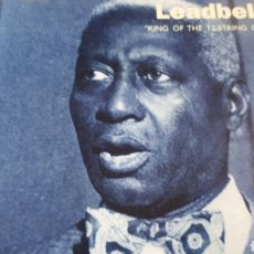 CDs de Música: LEADBELLY KING OF THE 12 STRING GUITAR. Lote 224251356