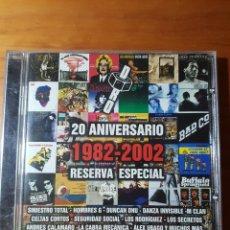 CDs de Música: SINIESTRO TOTAL, LOQUILLO, EXTREMODURO, SECRETOS, JUAN PERRO, CALAMARO, PLATERO Y TÚ, ROSENDO, MCLAN. Lote 224276762