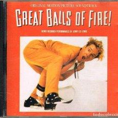 CDs de Música: JERRY LEE LEWIS, GREAT BALLS OF FIRE, VER CONTENIDO EN FOTOGRAFIA DEL DORSO. Lote 224304580