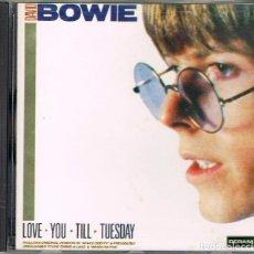 CDs de Música: DAVID BOWIE LOVE YOU TILL TUESDAY, VER CONTENIDO EN FOTOGRAFIA DEL DORSO. Lote 224305393