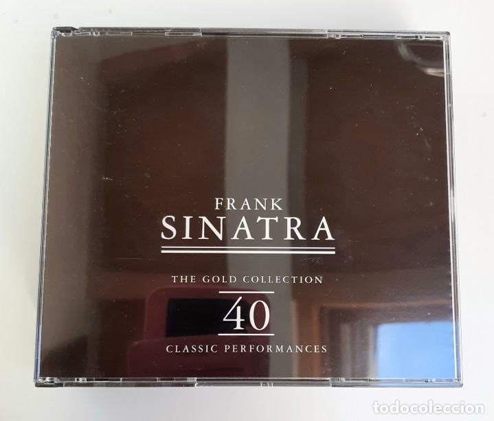 CDs de Música: Frank Sinatra - The Gold Collection - Doble CD - Edición de Lujo - - Foto 3 - 195337238