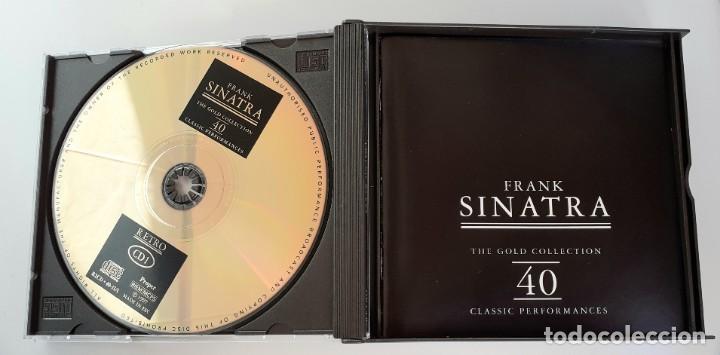 CDs de Música: Frank Sinatra - The Gold Collection - Doble CD - Edición de Lujo - - Foto 5 - 195337238