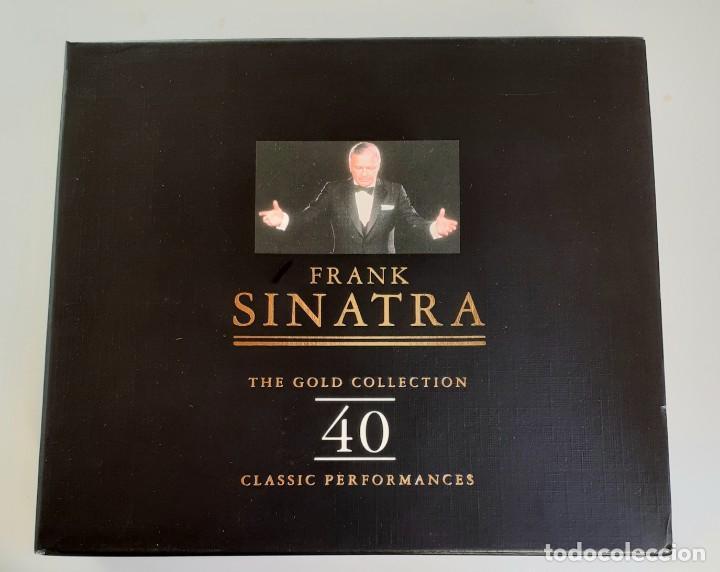 FRANK SINATRA - THE GOLD COLLECTION - DOBLE CD - EDICIÓN DE LUJO - (Música - CD's Jazz, Blues, Soul y Gospel)