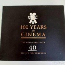 CDs de Música: 100 YEARS OF CINEMA ~THE GOLDEN COLLECTION~ EDICION DE LUJO. Lote 26011177