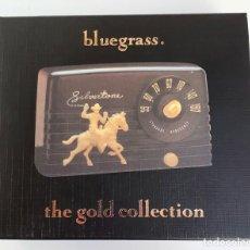 CDs de Música: BLUEGRASS - VARIOUS ARTISTS-THE GOLD COLLECTION - DOBLE CD-EDICIÓN DE LUJO. Lote 26863135