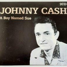 CDs de Música: JOHNNY CASH - THE GOLDEN COLLECTION - DOBLE CD - EDICIÓN DE LUJO. Lote 25987864