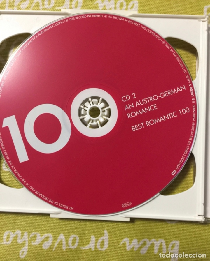CDs de Música: Best romantic Classics, 6 cd's, sin uso - Foto 3 - 224373698