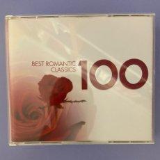 CDs de Música: BEST ROMANTIC CLASSICS, 6 CD'S, SIN USO. Lote 224373698