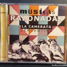 CDs de Música: LA CAMERATA CERVANTINA - MÚSICAS RAZONADAS - LA MANCHA. Lote 224375122