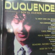 CDs de Música: DUQUENDE SOY EL DUENDE NUEVO, PARA ESTRENAR. Lote 244514305