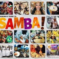 CD de Música: BEGINNER'S GUIDE TO SAMBA! - 3 CDS BOX SET - NUEVO Y PRECINTADO. Lote 224380660