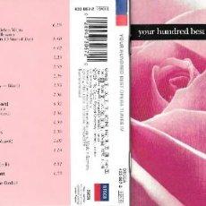 CDs de Música: YOUR HUNDRED BEST OPERA TUNES IV. Lote 224419255