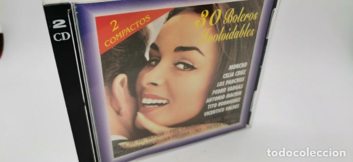 30 BOLEROS INOLVIDABLES 2 CD'S (Música - CD's Otros Estilos)