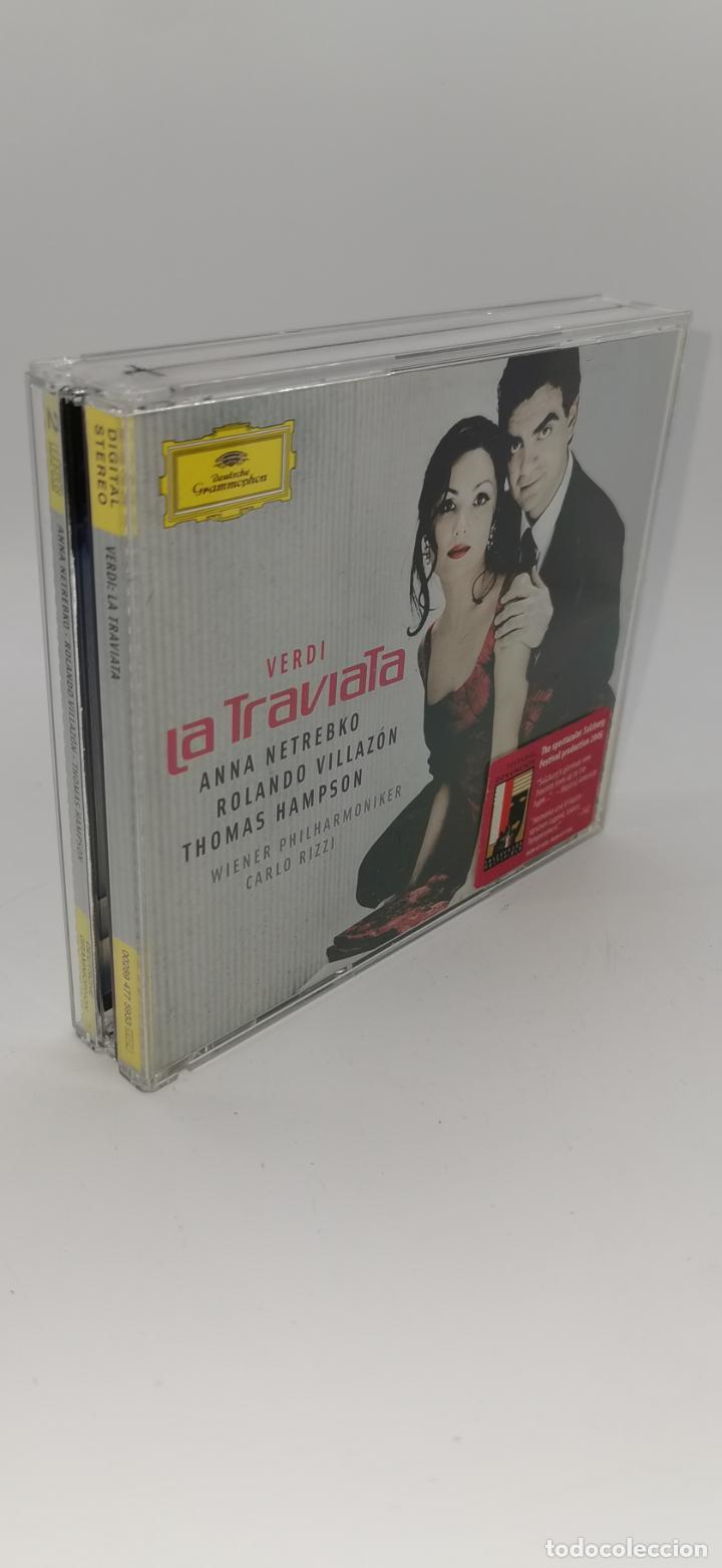 LA TRAVIATA VERDI ANNA NETREBKO 2 CD (Música - CD's Otros Estilos)