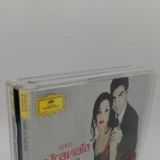 CDs de Música: LA TRAVIATA VERDI ANNA NETREBKO 2 CD. Lote 224481256