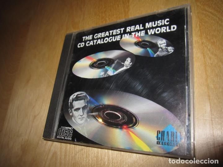 CD THE GREATEST REAL MUSIC CD CATALOGUE IN THE WORLD. 1988 (Música - CD's World Music)