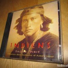 CDs de Música: CD INDIENS. SACRED SPIRIT. CHANTS DES INDIENS D'AMERIQUE. 1994. Lote 224485476