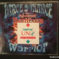 CDs de Música: DANCE 2 TRANCE - THE GROOVECULT REMIXES - WARRIOR - CD PROMOCIONAL PARA RADIOS 3 TEMAS PEPETO. Lote 224515023