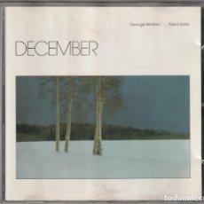 CDs de Musique: GEORGE WINSTON - DECEMBER (CD WINDHAM HILL 1982 ALEMANIA). Lote 224573115