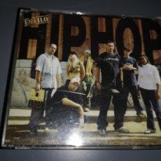 CDs de Música: TRST4G3. CD DE MÚSICA ESTILO HIP HOP 2 CDS. Lote 224620226
