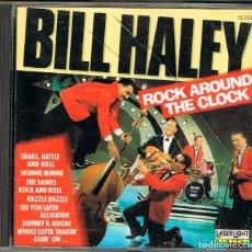 CDs de Música: BILL HALEY. ROCK AROUND THE CLOCK, VER CONTENIDO EN FOTOGRAFIA. Lote 224628410