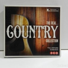 CDs de Música: DISCO 3 CD. THE REAL... - THE ULTIMATE COUNTRY COLLECTION. COMPACT DISC. TRIPLE.. Lote 224629147