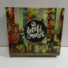 CD di Musica: DISCO 6 CD. VARIOS - WORLD MUSIC. COMPACT DISC.. Lote 224629968