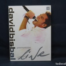 CDs de Música: DAVID BISBAL - PREMONICION LIVE - 2 CD + DVD. Lote 287901748